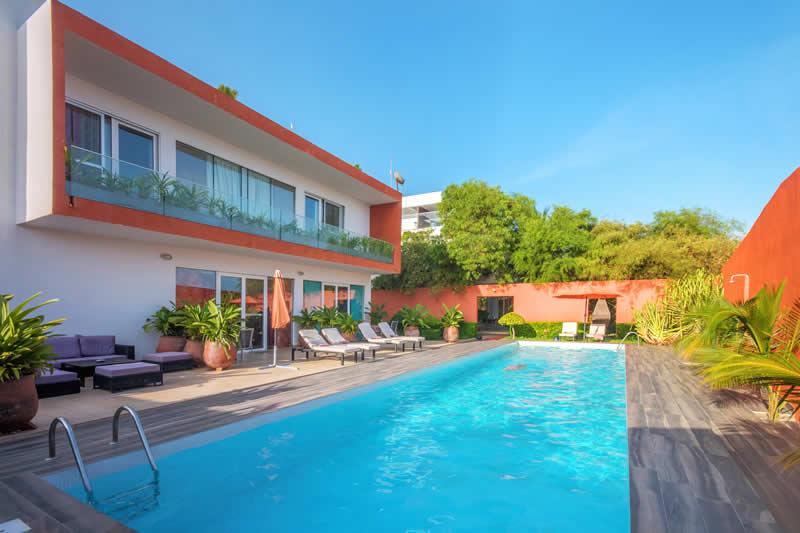 VILLA APPART HOTEL - LA MAISON ROUGE - COTONOU