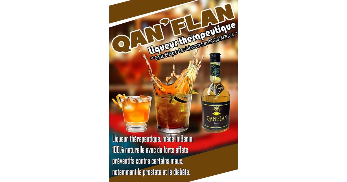 QAN'FLAN liqueur thérapeutique